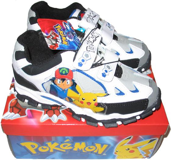 Details about POKEMON SHOES (1)- WHITE PAIR!! IMPOSSIBLE TO FIND