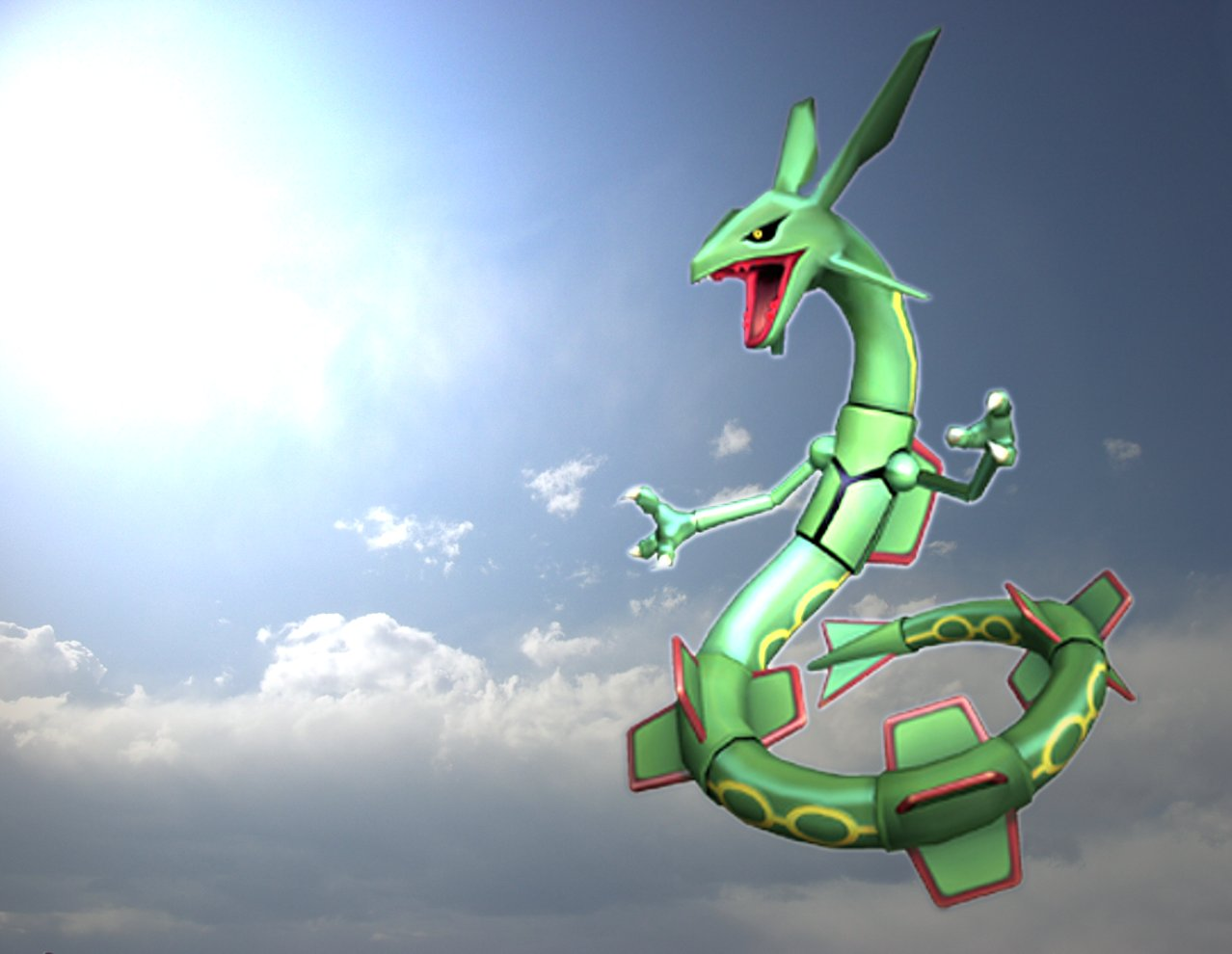 emerald rayquaza wallpapers - photo #32